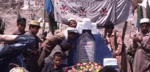 Fresh Mujahadeen grave
