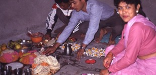 Raj & Champa in Kathmandu
