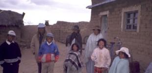 Lake Titicaca family
